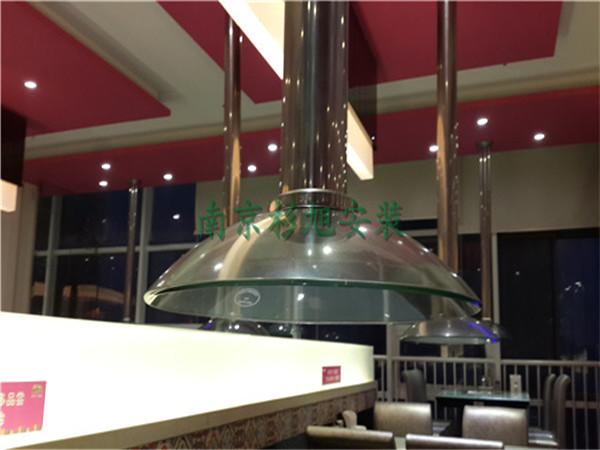 南京燒烤店通風排煙 南京排煙管道安裝-歡樂牧場燒烤