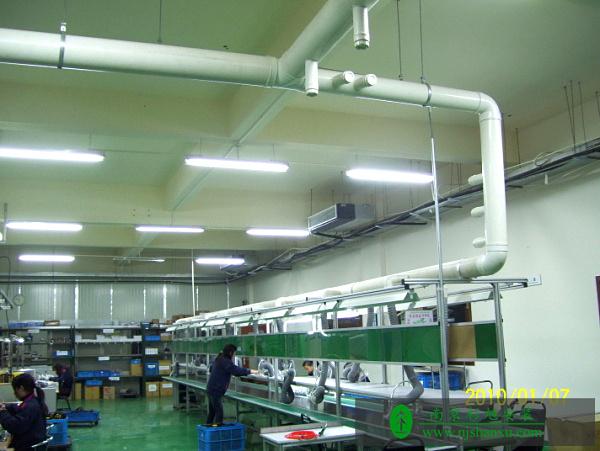 凡宜科技电子有限公司 通风系统水电安装案例